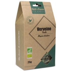 Organic verbena NAT&FORM TISANES