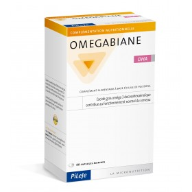 OMEGABIANE DHA - 80 gélules - Laboratoire PILEJE
