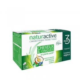 Hair and nail cure - 90 capsules - NATURACTIVE