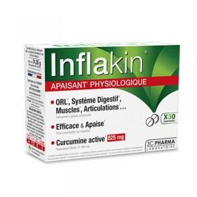 INFLAKIN - 30 tablets - 3C PHARMA
