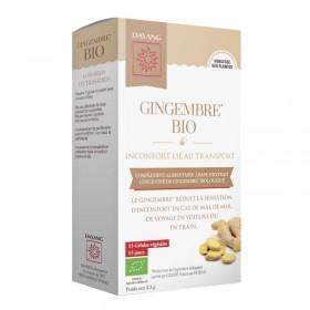 Organic ginger - 15 capsules - DAYANG
