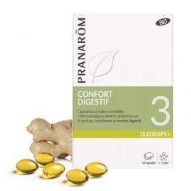 OLEOCAPS + 3 confort digestif PRANARÔM