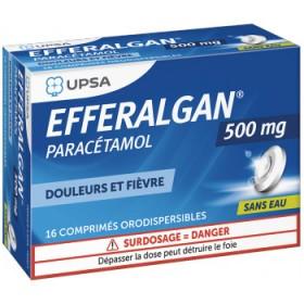 Efferalgan 500mg orodispersibles tablets UPSA