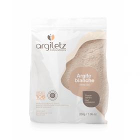 Argile blanche - peaux ternes - ultra ventilée...