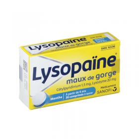 Lysopaine lozenges - SANOFI