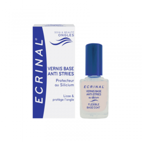 Nail polish base anti-stripes - ECRINAL