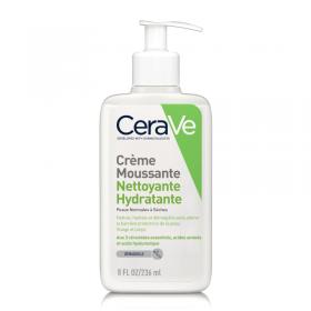 Crème moussante nettoyante hydratante - CeraVe