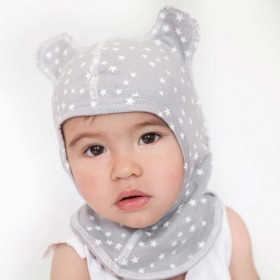 Pack of 2 anti-scratch snoods for baby and...
